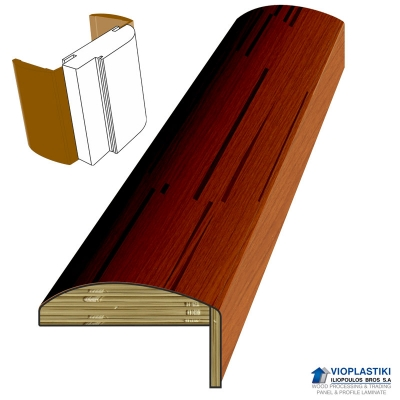 PLYWOOD CURVE DESIGN ARCHITRAVE
